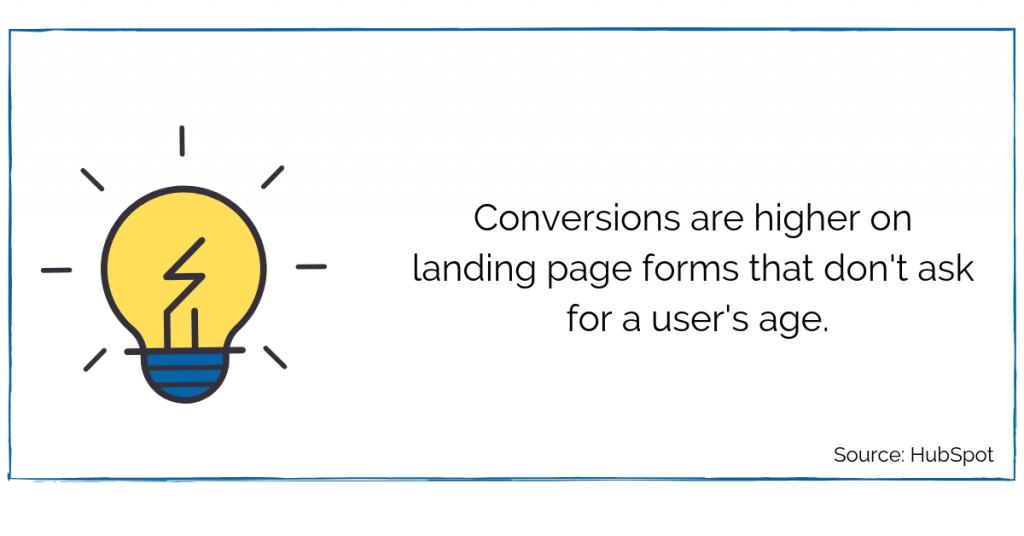 Landing Page Tip