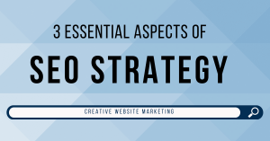 3 Aspects of SEO Strategy