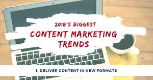New Content Marketing Formats