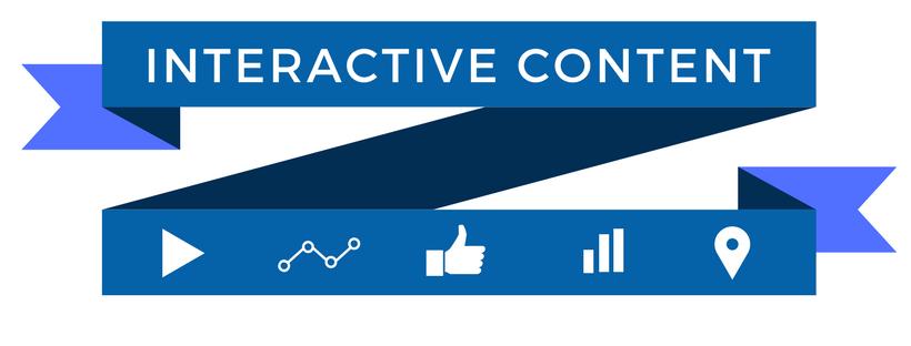 Interactive Content header