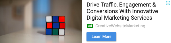 Responsive Display Ad Example