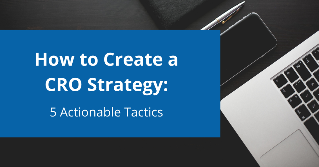 how to create a cro strategy