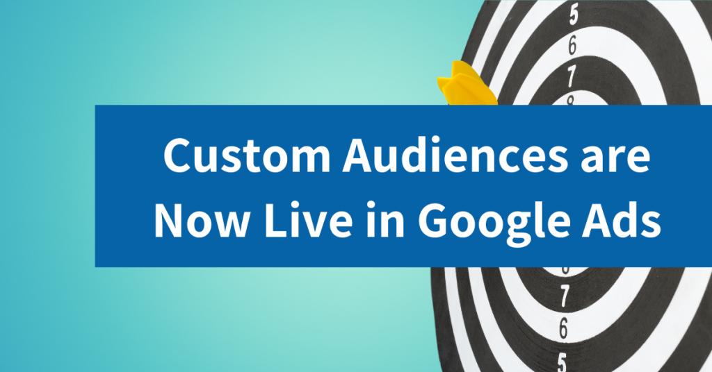 custom audiences in google ads