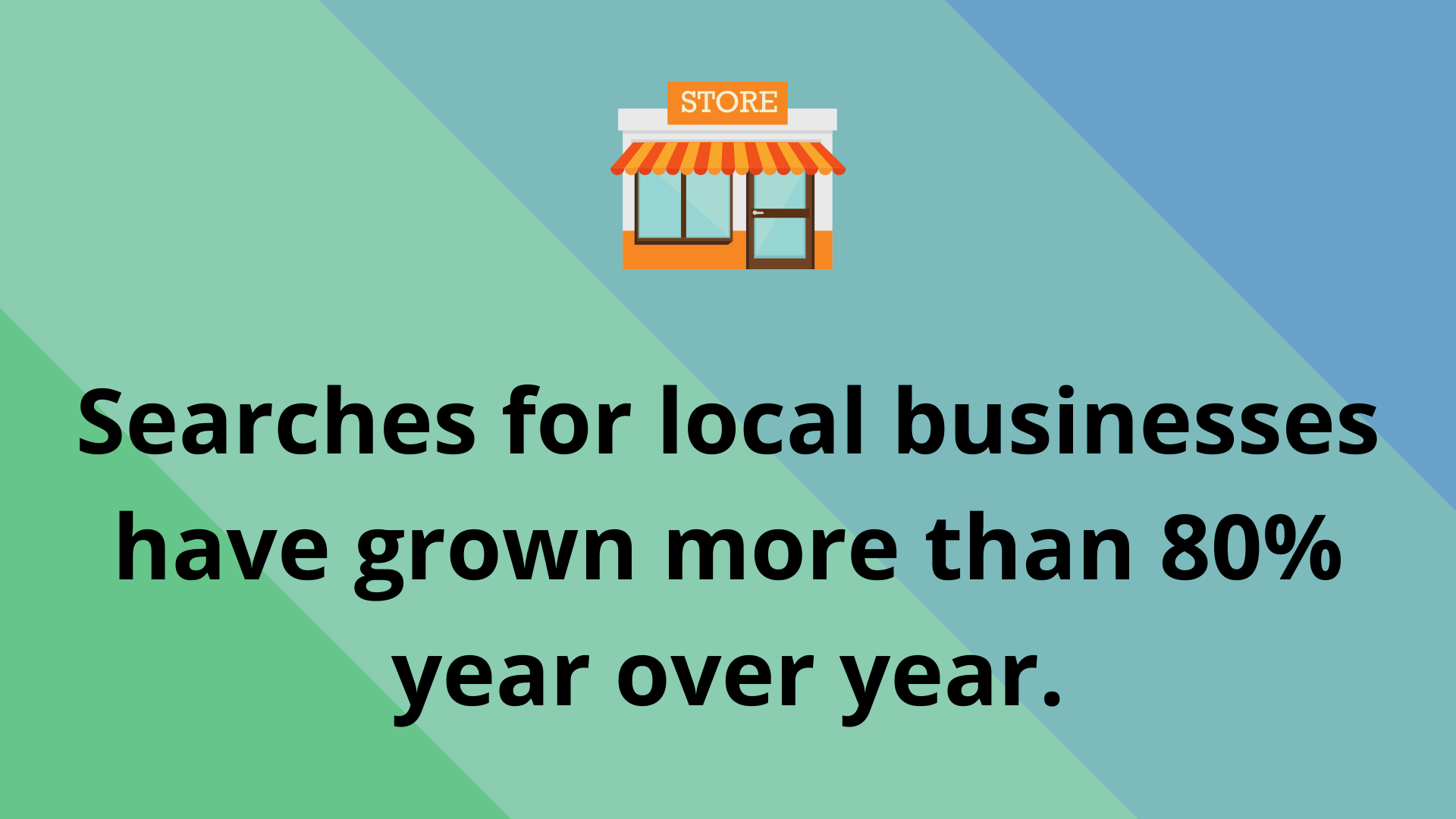 searches for local businesses have increased