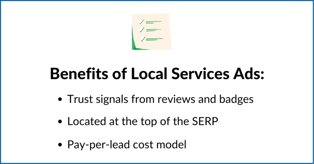 Benefits of Local Services Ads
